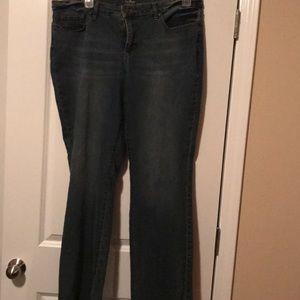 Curvey bootcut Jeans